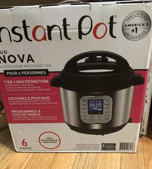 Brand new in box never opened instant pot nova. Instant Pot Duo Nova for Sale in Seattle, WA