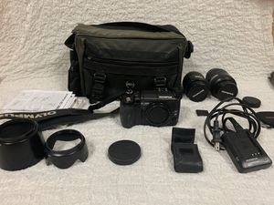 Olympus DSLR Camera Set and Carrying Bag for Sale in South Jordan, UT