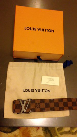 Louis Vuitton Damier Ebene Belt for Sale in Dale City, VA