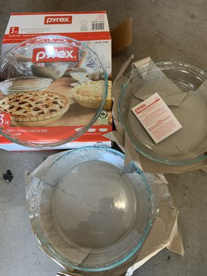 NEW- Glass Pie Plates for Sale in Chandler, AZ