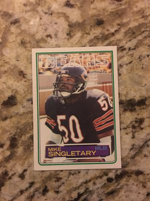 Mike Singletary rookie card for Sale in Casa Grande, AZ