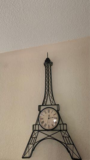 Paris wall watch for Sale in El Cajon, CA