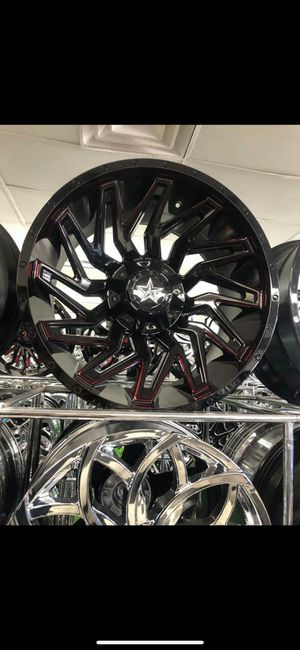 22x12 Wheels and tires set 33125022 for Sale in Phoenix, AZ