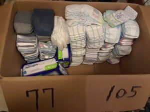 Size 6 and 7 diapers for Sale in Everett, WA