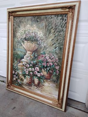 Oil painting large for Sale in Wildomar, CA