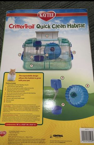 Hamster / Gerbil Cage (Includes wheel, food dish, and water bottle) for Sale in Miami, FL