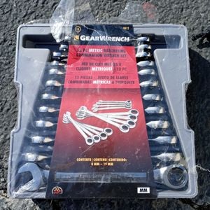 New Gear Wrench 12pc Metric for Sale in Fresno, CA