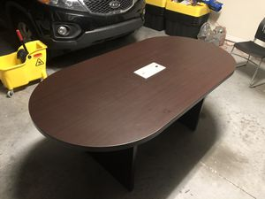 Modern-Style Conference Table, Oval, for Sale in MAGNOLIA SQUARE, FL