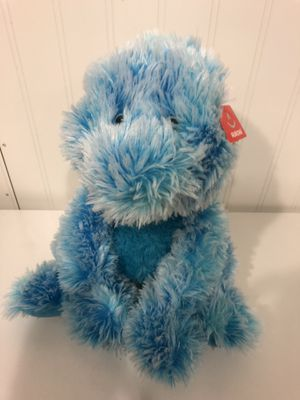 "10"" Blue Dinosaur Stan Aurora Plush Stuffed Animal Toy Super Soft. Still with tag! for Sale in Columbus, OH"