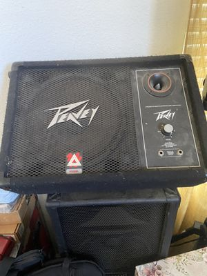 Peavey unpowered stage monitor for Sale in Temecula, CA