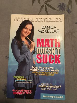 Math Doesn't Suck book - National Bestseller! for Sale in MONTE VISTA, CA