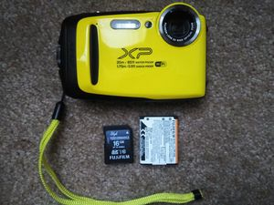Fuji Film Digital Camera WIFI/Bluetooth/Video with audio. WATER/SHOCK PROOF for Sale in Seabrook, TX