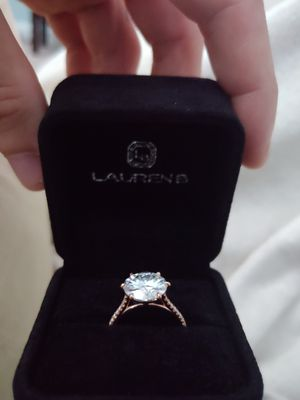5 ct. Moissanite engagement ring for Sale in P C BEACH, FL