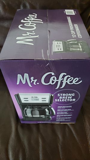 Mr. Coffee programmable coffee maker for Sale in San Fernando, CA