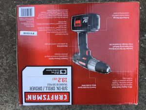 Craftsman cordless drill driver battery charger by battery charger for Sale in San Jose, CA