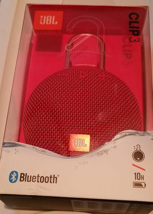 JBL CLIP3 BLUETOOTH SPEAKER for Sale in Raleigh, NC