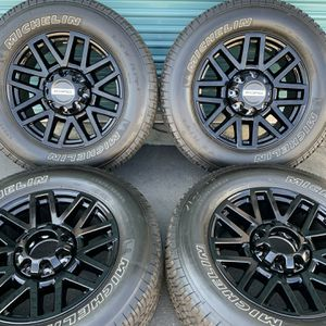 """20"""" Inch Ford F-350 F-250 OEM rims wheels tires Black for Sale in Fontana, CA"""