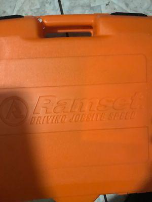 Ramset nail gun for Sale in San Antonio, TX