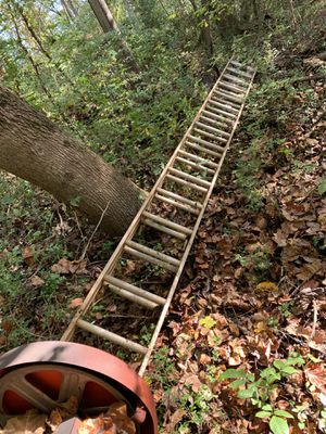 32ft aluminum ladder for Sale in Roswell, GA