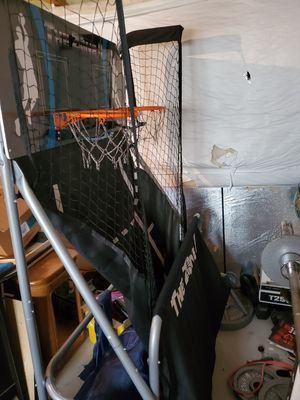 Basketball hoop and airhockey for Sale in Fountain, CO