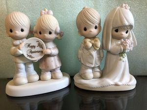 Precious Moments wedding & anniversary editions $25 each. Sold separately or together for Sale in Queens, NY