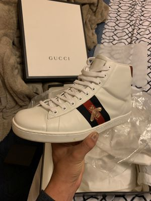 Auth High Top Gucci Mens Sneakers size 9 for Sale in Citrus Hills, FL