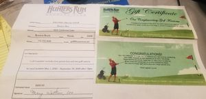 GOLF GIFT CERTIFICATE!! for Sale in Fort Lauderdale, FL