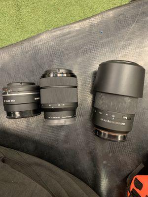 Sony Lenses for Sale in North Las Vegas, NV