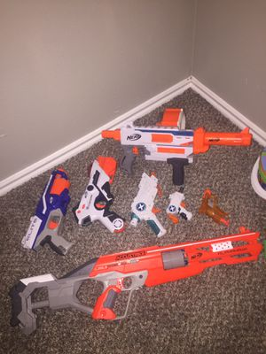 Nerf guns ALL for Sale in Dallas, TX