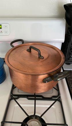 Rare copper soup pot for Sale in Hatboro,  PA