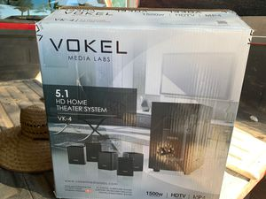 Vokel media surround sound 1500 watts total power!! for Sale in Apache Junction, AZ
