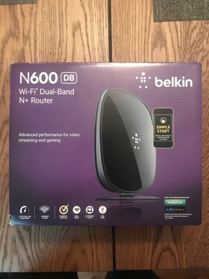 Belkin WiFi Dual-Band N600 Router for Sale in Alexandria, VA