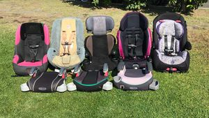 Kids car seat booster seat 15-35 FIRM PRICE NO DELIVERY CASH OR TRADE FOR BABY FORMULA for Sale in Los Angeles, CA