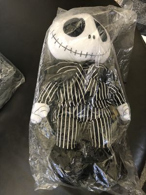 """ORIGINAL NECA The Nightmare Before Christmas Jack Skellington Plush Pal Doll 15"""" LIMITED EDITION for Sale in Fontana, CA"""