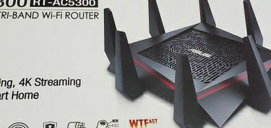 ASUS AC5300 Wi-Fi Tri-band Gigabit Wireless Router for Sale in Bayonne,  NJ