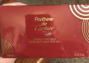 Panthere De Cartier Body Cream~ 6.75 Oz~New W/ Box for Sale in Odessa, TX
