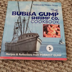 Bubba Gump Shrimp Co Cookbook for Sale in West Palm Beach, FL