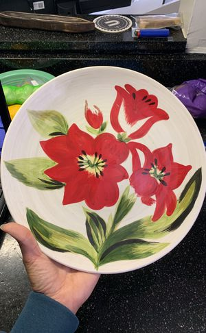Painted Plate for Sale in Alexandria, VA