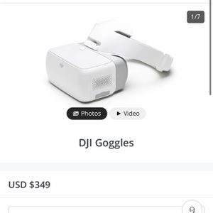 DJI Goggles with Case for Sale in Seattle, WA