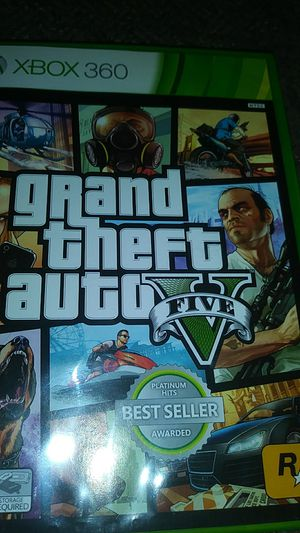 Xbox360 gta 5 for Sale in Phoenix, AZ