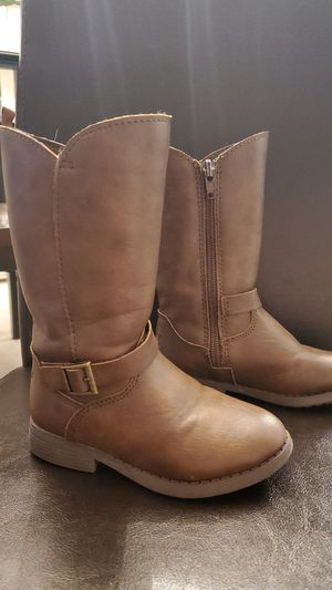 Little girls brown boots for Sale in Denver, CO