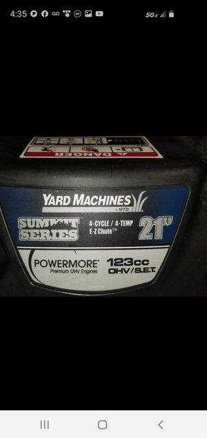"""MTD SUMMIT SERIES 21""""POWERMORE SNOWTHROWER for Sale in Chicago, IL"""