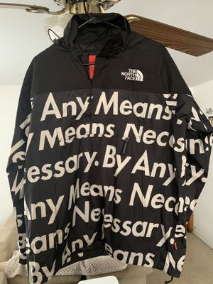Supreme By Any Means Necessary Pullover Jacket Size M for Sale in River Grove, IL