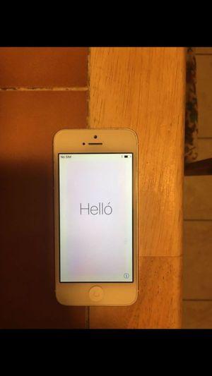 IPhone 5 (Silver) for Sale in Mount Laurel, NJ