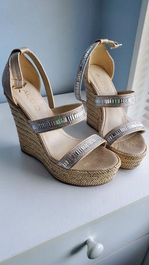 ALDO wedge sandals 6 for Sale in Springfield, VA