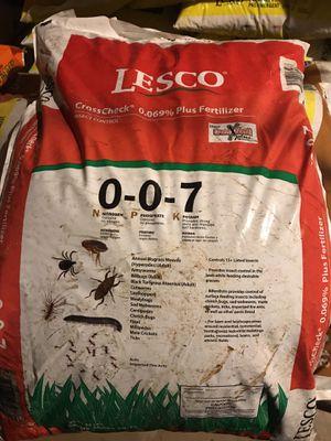 LESCO Crosscheck Plus Fertilizer for Sale in Manassas, VA