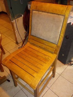Kitchen table with four matching chairs for Sale in Godfrey, IL