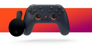 Limited edition Google stadia with night blue controller plus Chromecast ultra for Sale in Philadelphia, PA