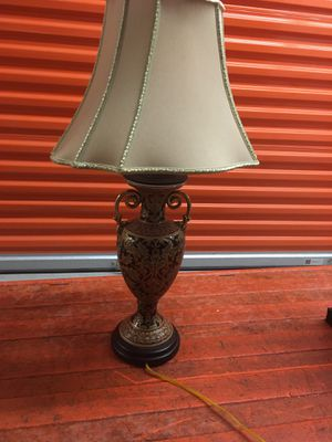 Antique lamp with really nice designs for Sale in Columbia, MD