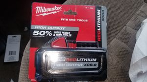 NEW MILWAUKEE BATTERY 8.0 for Sale in Westlake, OH